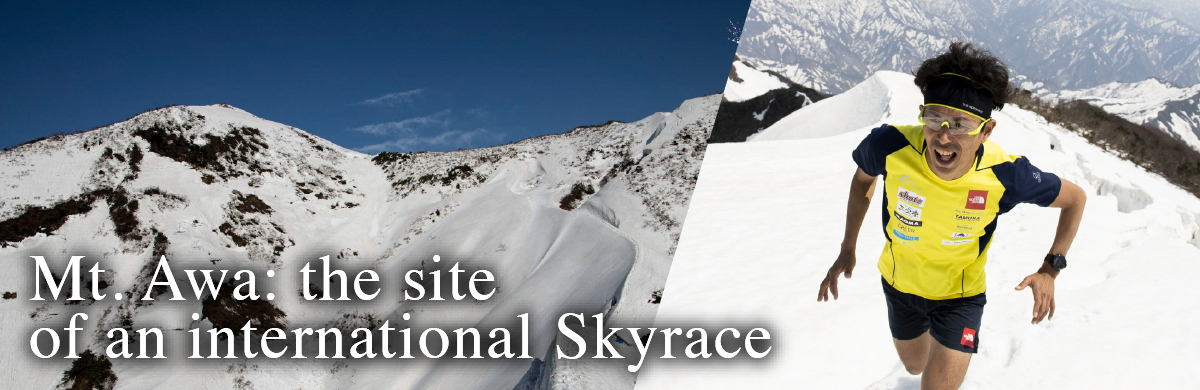 A profession trail runner helps create the international Mt. Awa Skyrace